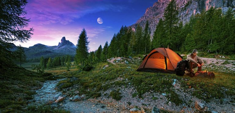 Consider Camping for a Good Night's Sleep